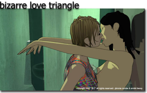 Bizarre Love Triangle – 17.28mb. (avi)