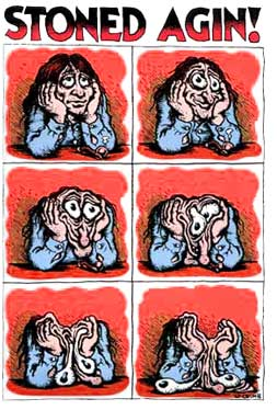 robert crumb - stoned again