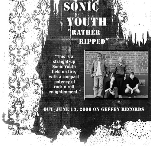 sonic youth. rather ripped